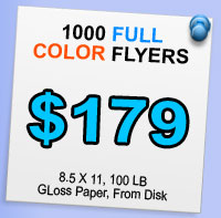 Flyers Full Color